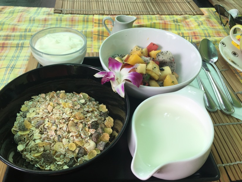 My fitness breakfast in ChiangMai.