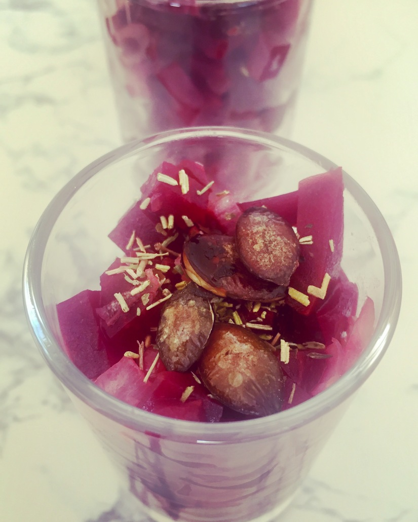Refreshing Beetroot and Onion Salad