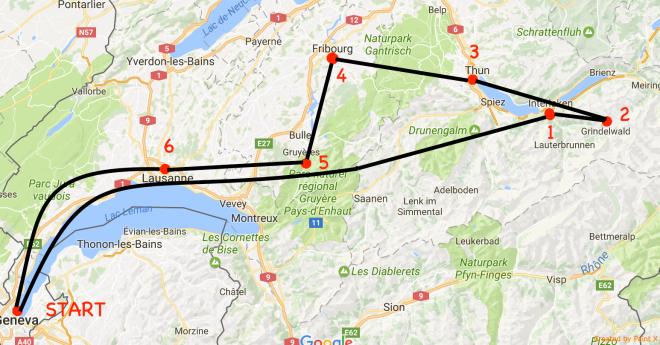 MAP ROAD TRIP SWZ