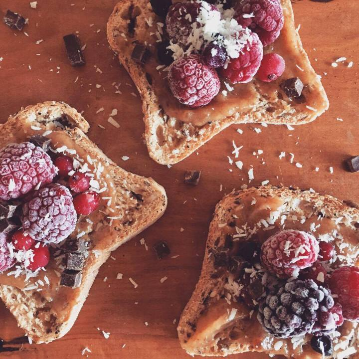 Gluten free Fruit Toasts