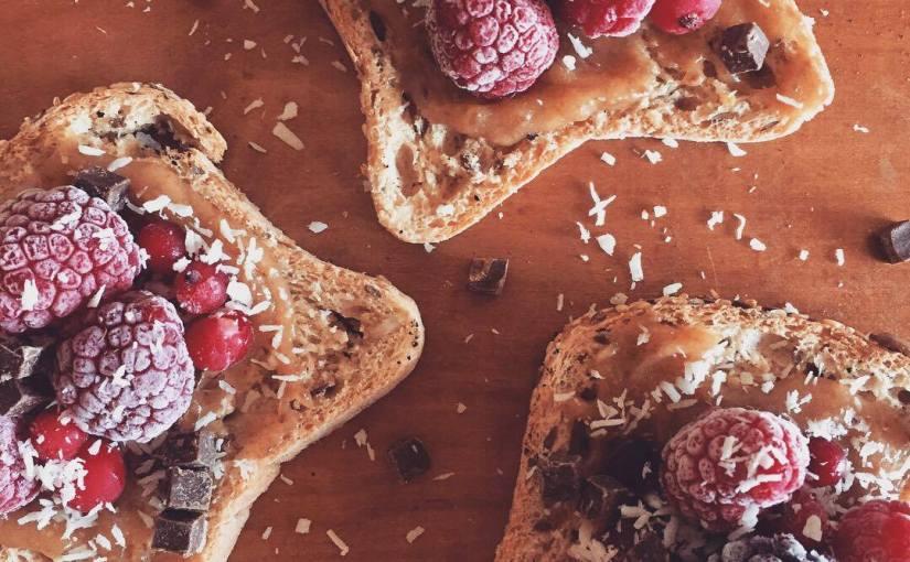 Gluten free FruitToasts